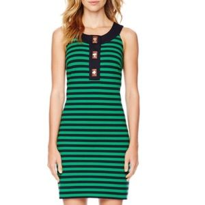 Michael Kors turnlock Stripe Dress XS